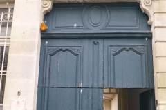 Etape 1 - Remplacement d'une porte en bois