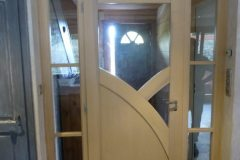 Porte d'intérieure en bois