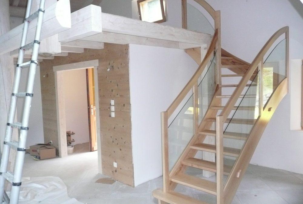 Fabricant d'escalier dans les Vosges
