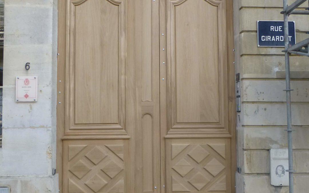 Fabricant de porte à Gérardmer