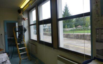 Pose de fenêtres à Epinal