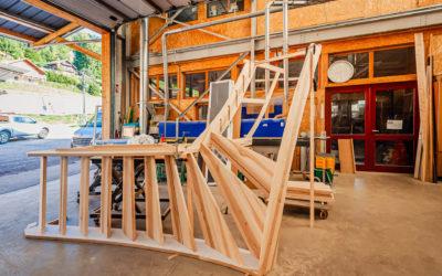 Fabricant d'escalier à La Bresse
